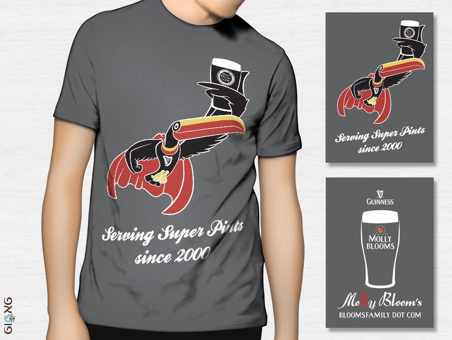 עיצוב חולצה למולי בלומס