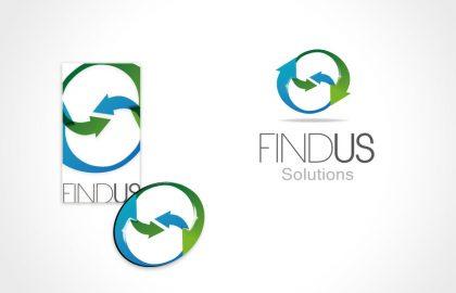 עיצוב לוגו לFIND US